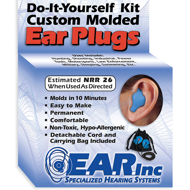 Do-It-Yourself moulded earplugs